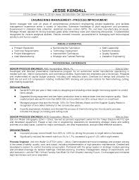 Process Engineer Resume Berathen Com