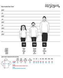 Apparel Size Charts Fanjoy