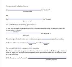 7 Business Lease Agreement Templates – Sample, Examples & Format ...