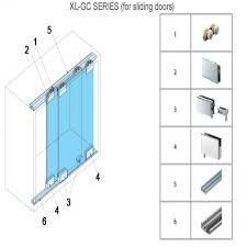 cabinet specialty door hardware xl gc series sliding glass door hardware