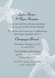 Reception Invitations Reception Invitation Wording After