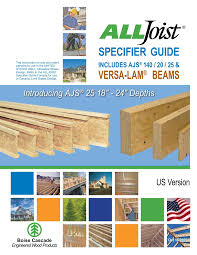 Boise Cascade I Joist Hole Chart Specifier Guide Boise Cascade Pages 1 36 Text Version