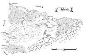 A Map Of Sylvania Warhammer Fantasy Battle Warhammer Art Map