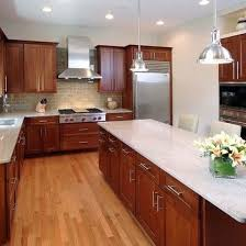 Also, cherry wood kitchen cabinets have a timeless appeal. 13 Ways To Modernize Cherry Kitchen Cabinets For Less