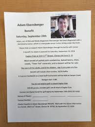 "Clinton River Kings on Twitter: ""Benefit for former R_King Adam Ebensberger.  Spread the word & support Adam. It's what we do! It's the CHS way.… """