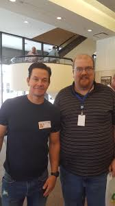 nice person office. Was Walking Around My Office Lobby And Looked Over There Mark Wahlberg. Really Nice Guy Let Me Take A Pic With Him. They Are Also Going To Build Person