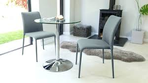 small dining table for 2 small round glass dining tables architecture modern round glass and chrome