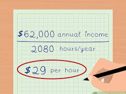 Hourly Payroll Calculator Free 3 Ways To Calculate Your Real Hourly Wage Wikihow