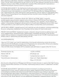 How To Write Federal Resume Awesome Sample Federal Resumes Federal Resume Template Awesome Federal