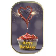 Wondercake Happy Birthday Fine Cake In The Can With Heart Sparkler Red And 5 Heart Balloons Model 638625 Ean 4251499403728 Manufacturer