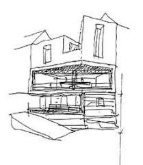 modern architectural sketches. Modren Architectural Private House In Corrubedo David Chipperfield Sketch Modern Architecture   Intended Architectural Sketches