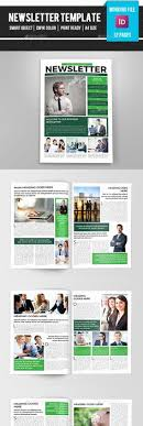 One Page Newsletter Templates One Page Newsletter Template Newsletter Templates Free Free Download