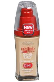 l oréal infallible advanced never fail makeup profile photo review base loreal
