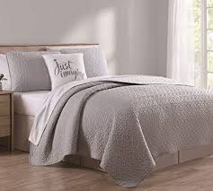 white quilt king. Brilliant Quilt 4 Piece Marshall GrayWhite Quilt Set King Intended White H