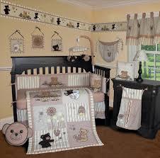 sisi bear and bee crib bedding collection