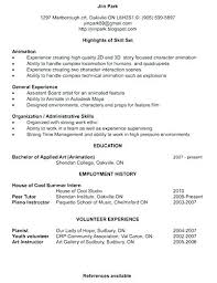 Resume Personal Profile Examples Example Of Profiles Template For