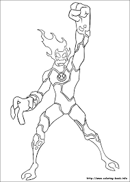 Small Picture Ben 10 Coloring Pages Ben10Firecom