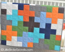 free plus quilt pattern & tutorial   Little Birdie Secrets & free plus quilt pattern & tutorial Adamdwight.com