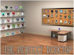 office desk wallpaper. The Perfect Desktop Wallpaper | How To Organize Your Office Desk F