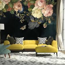 Wall Mural, Floral Wall Art,Wall Decal ...