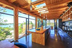 modern cottage interior design ideas. modern timber country cottage in georgian bay. this eco-friendly interior design ideas
