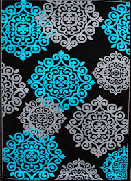 black and turquoise rug furniture lovable turquoise area rug and grey rugs intended in plans