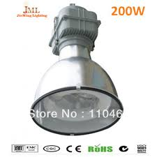 200w lvd induction lamps magnetic high bay induction lamp 5years warranty led high bay high power outdoor ip65 waterproof lamps in floodlights from lights
