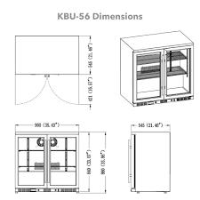 Undercounter Beverage Refrigerator Glass Door 36 Under Counter Beverage Cooler Shop Refrigerators