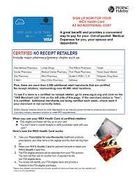 no receipt retailer flyer fsa debit card wex revised may 2018 pdf 791x1024 jpg