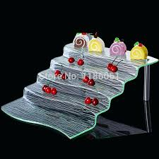Acrylic Tiered Display Stands Buffet Display Stands 100 Tier Buffet Stand A Beverage Display Stand 51