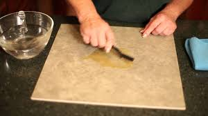How To Remove Kitchen Tiles How To Clean Stains On Ceramic Tile Youtube