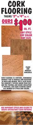 G Cork Flooring 1 Sq Ft