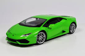 Diecast Lamborghini Huracan LP610 - 4 modelcar, Welly 1:18 in ...