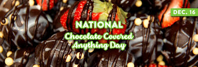 national chocolate covered anything day.  Chocolate National Chocolate Covered Anything Day 2018 U2014 December 16 Throughout A