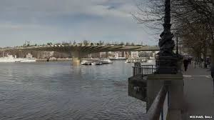 Small Picture London Garden Bridge Design of Thames crossing unveiled BBC News