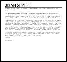 cover letter for job application for administrative assistant     Administrative Assistant Cover Letter Sample