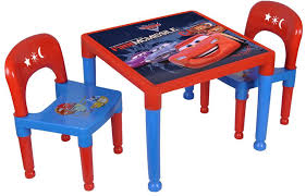 cars kids table