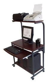 portable office desk. STS 7801 Compact Portable Computer Desk W Hutch Shelf Keyboard With Idea 7 Office B