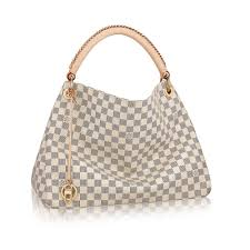 louis vuitton damier azur. artsy mm damier azur in women\u0027s handbags collections by louis vuitton n
