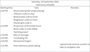 Awesome Wedding Timeline Template Themes Free Music List