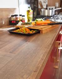 Un Plan De Travail Imitation Bois Pour Une Cuisine Rustique Chic