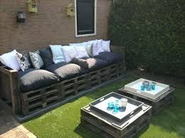 pallet patio furniture. Outdoor Pallet Furniture Ideas And Projects For Patio Garden Table Wooden Sofa Decorative Pillows