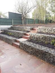 how to build a gabion wall the