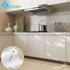 Waterproof Kitchen Flooring Online Get Cheap Waterproof Wallpaper For Kitchens Aliexpresscom