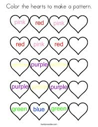 heart design coloring pages. Contemporary Coloring Color The Hearts To Make A Pattern Coloring Page On Heart Design Pages C