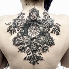 Sun Tattoo On Back Best Tattoo Ideas Gallery