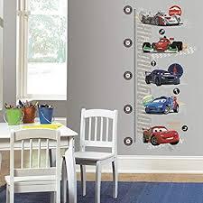 Disney Cars 2 Height Chart Wall Stickers Metric Grwth Chrt