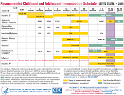 40 Up To Date Baby Immunizations Chart