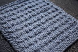 Knit Dishcloth Pattern Delectable Andalutheean Knitted Dishcloth Little House In The Suburbs