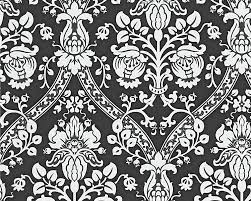 black and white wallpaper pattern. Black And White Look Metallic Wallpaper Roll Wall Decor In Pattern Walmart Canada